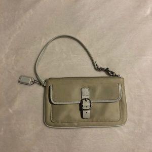 Coach clutch purse.
